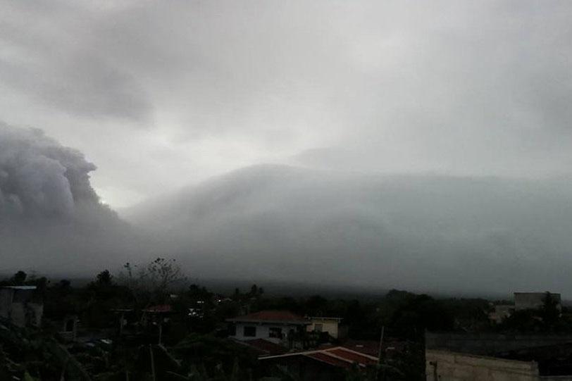 НаФилиппинах проснулся вулкан Майон
