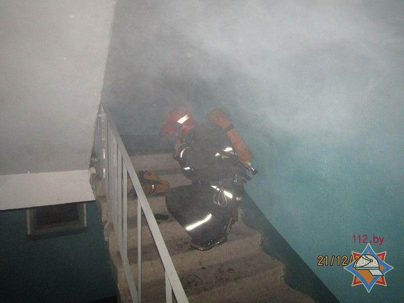 ВВитебске короткое замыкание привело кпожару и смерти 90-летней женщины