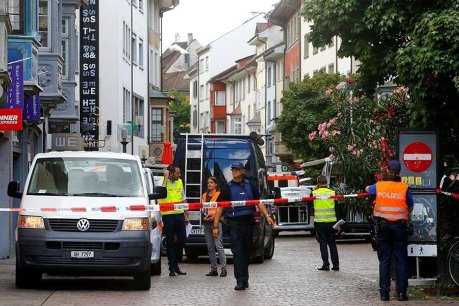 Милиция  задержала маньяка, устроившего резню вШаффхаузене