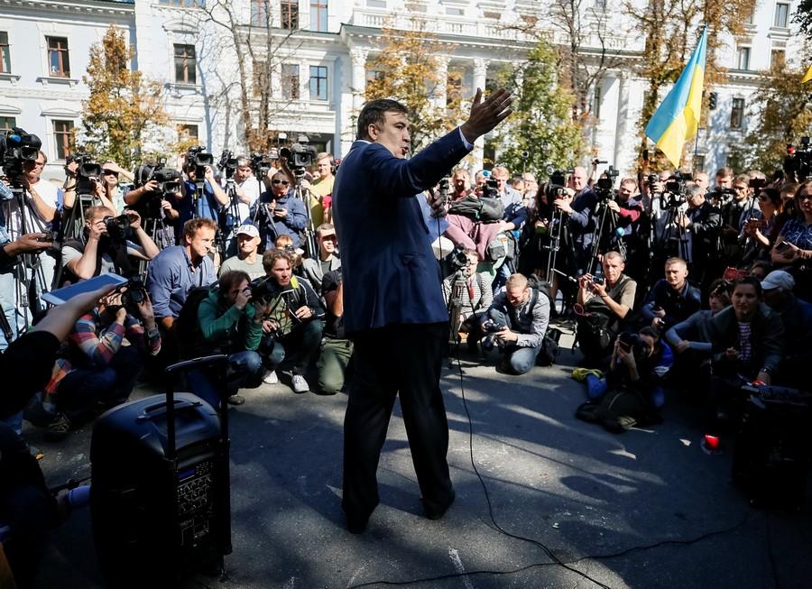 «Прорыв» украинской границы обошелся Саакашвили в130 долларов