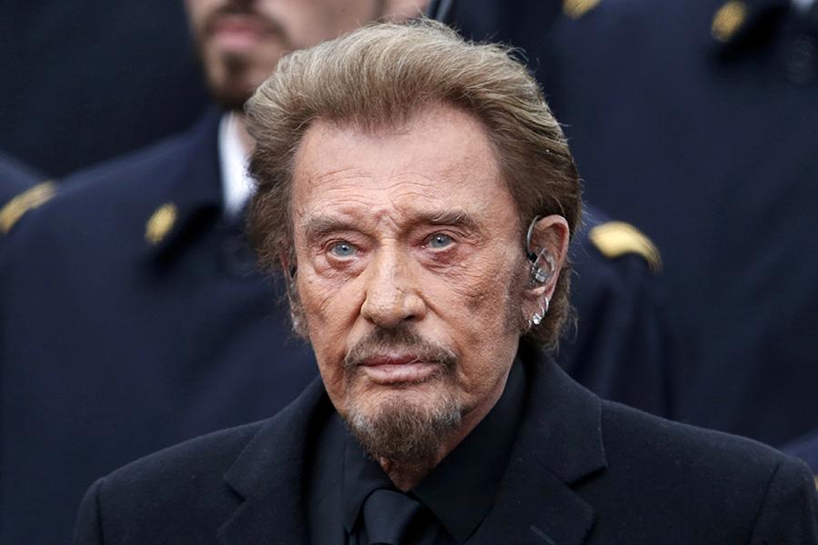 Скончался  рок-музыкант Джонни Холлидей