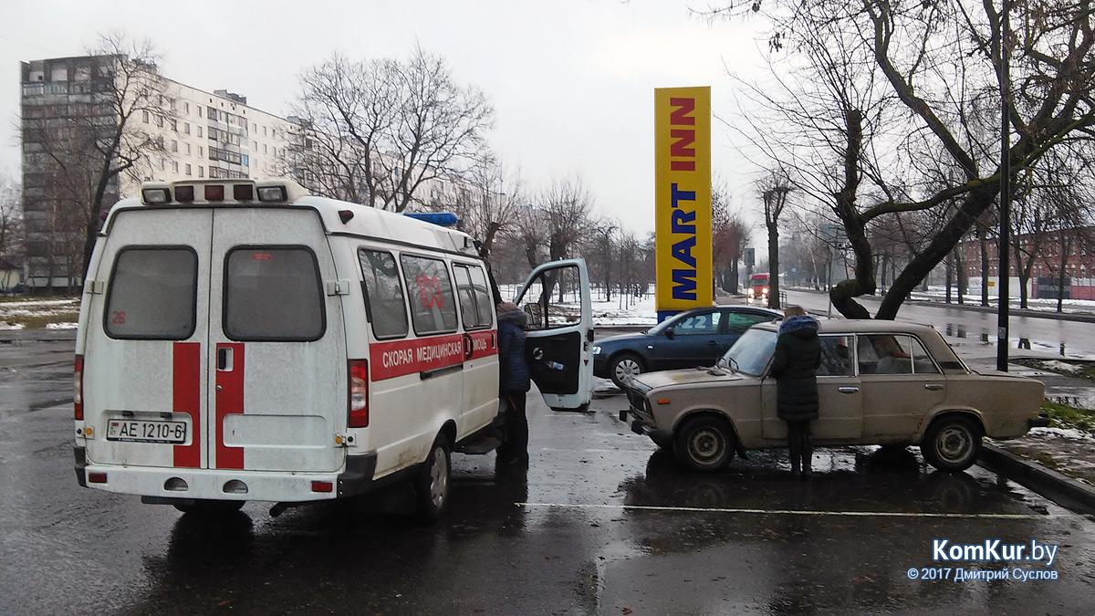 ВБобруйске шофёр «Жигулей» скончался подороге в больницу