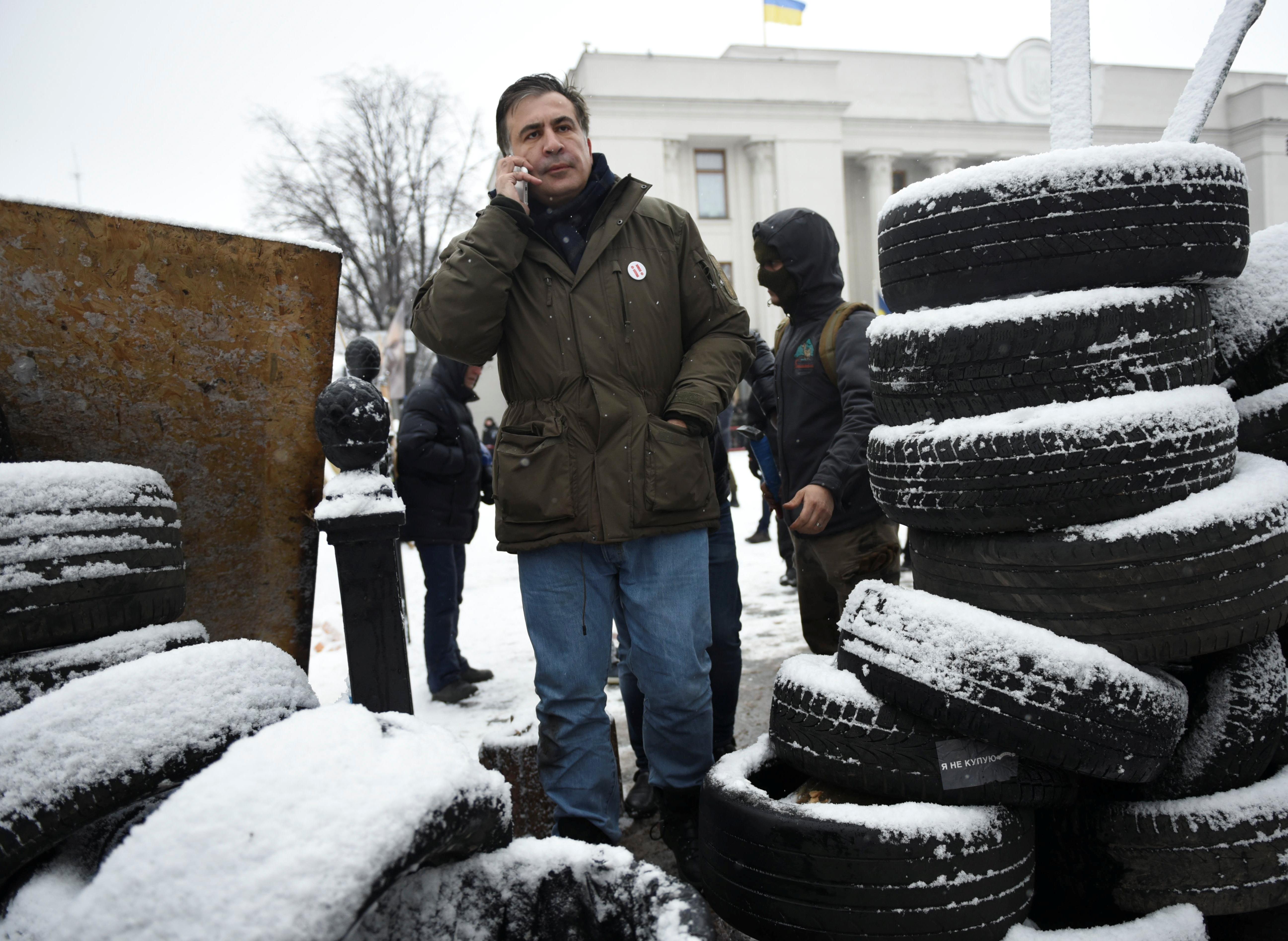 ВГрузии непланируют отменять запрос обэкстрадиции Саакашвили изУкраины