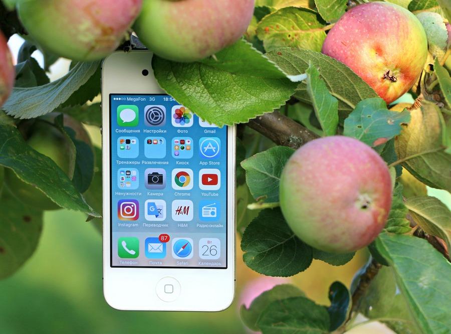 Доля Apple на русском рынке телефонов увеличилась практически натреть
