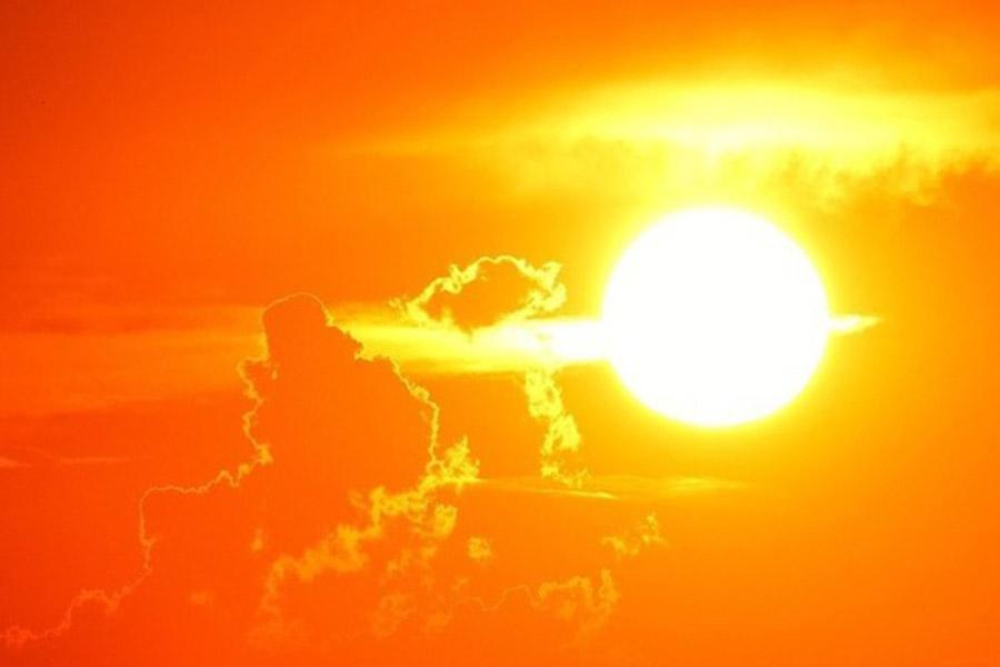 какое-то злобное солнце фото вот