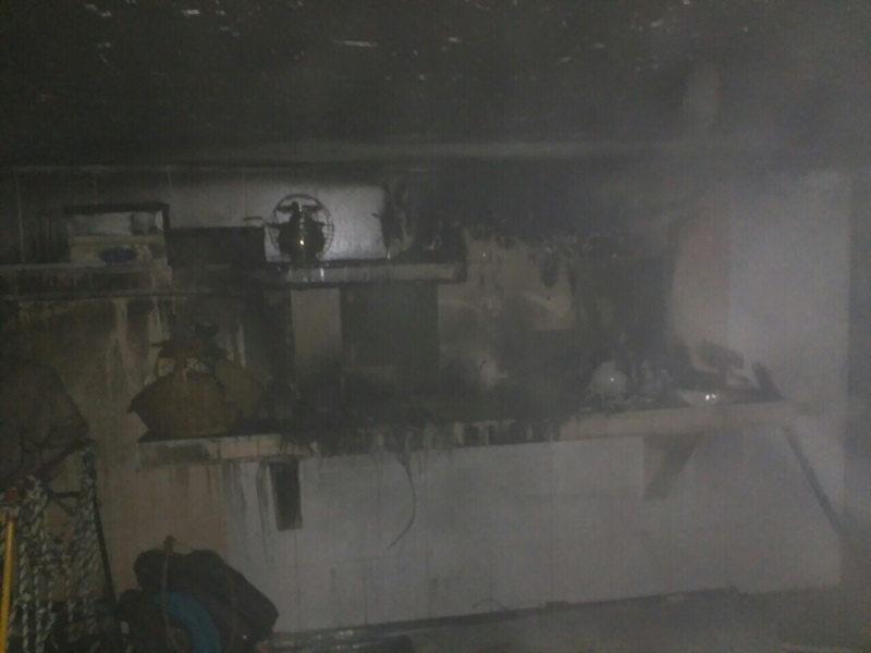 ВЛогойске 3-летний ребенок заперся вдоме впроцессе пожара