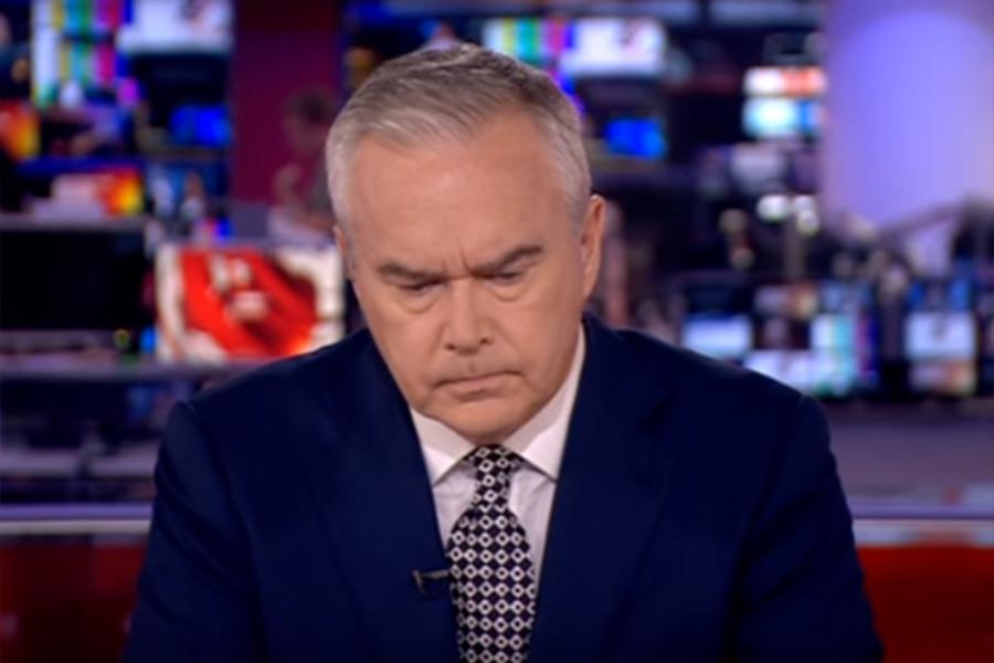 Угрюмый вид ведущего BBC вызвал сомнение в социальных сетях