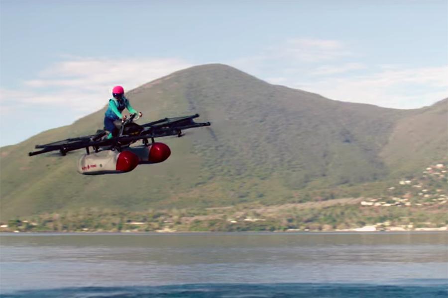 Стартап Kitty Hawk показал «летающий автомобиль». В его создание инвестировал CEO Alphabet Ларри Пейдж