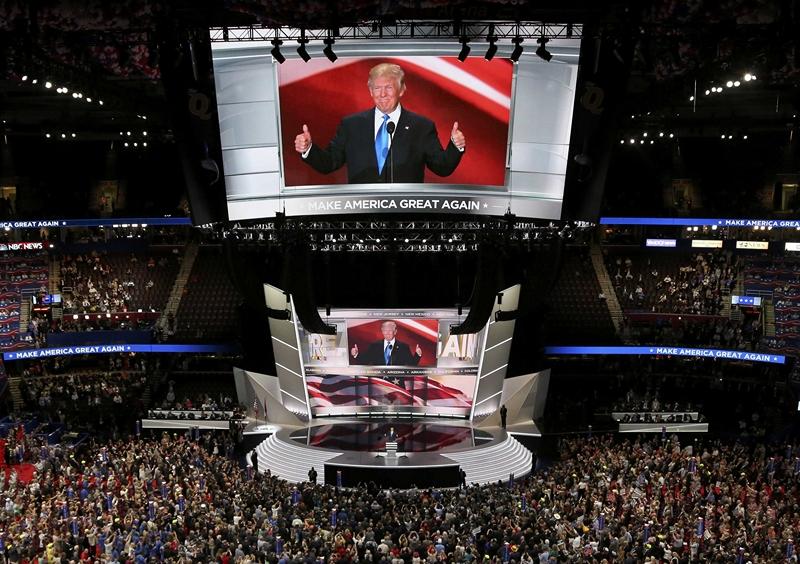 Трамп стал кандидатом отреспубликанцев напост президента США