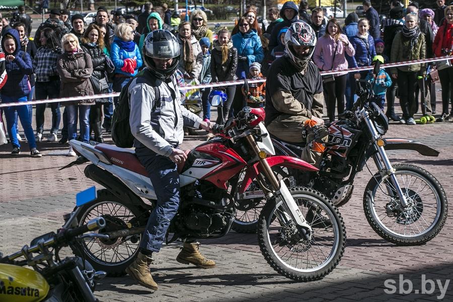 Мотосезон-2017 официально открыли вМинске
