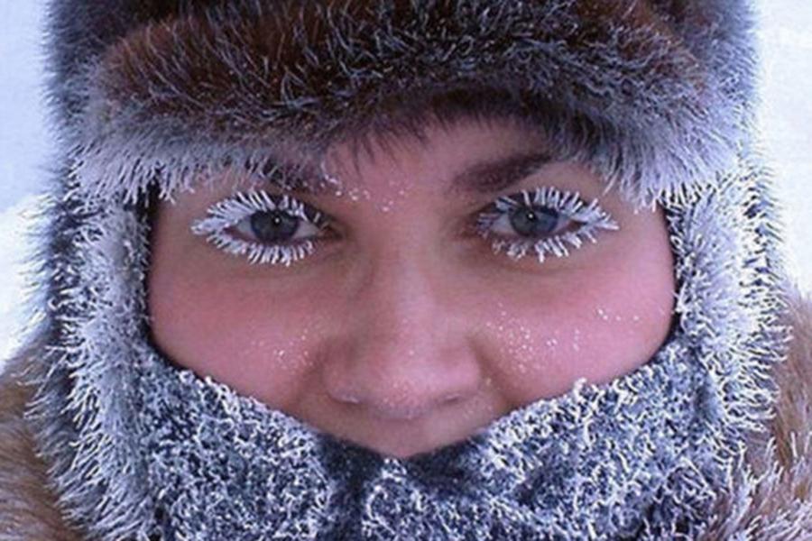 Ночь на13января в российской столице оказалась самой холодной зазиму