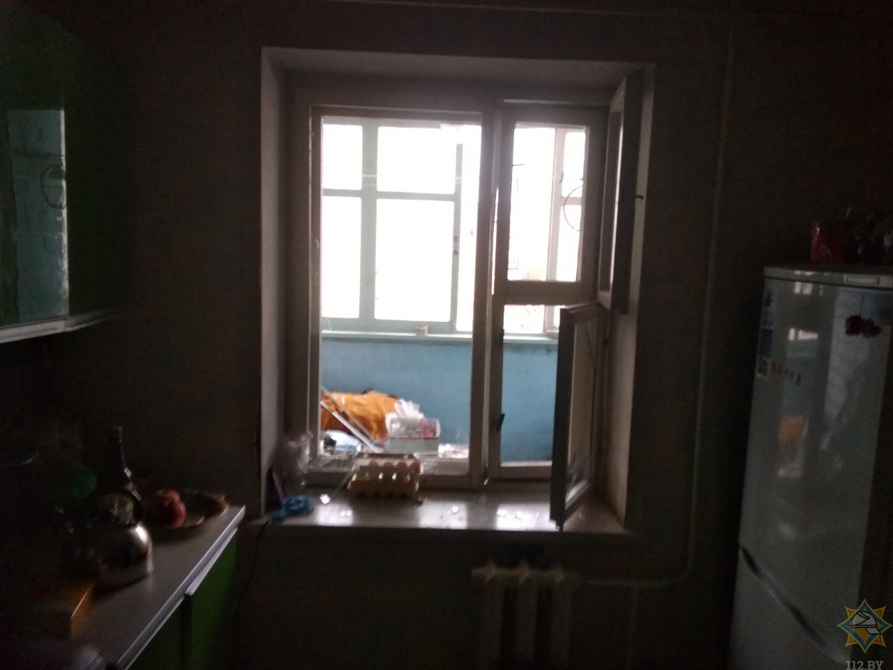 В Мозыре в жилом доме произошел взрыв
