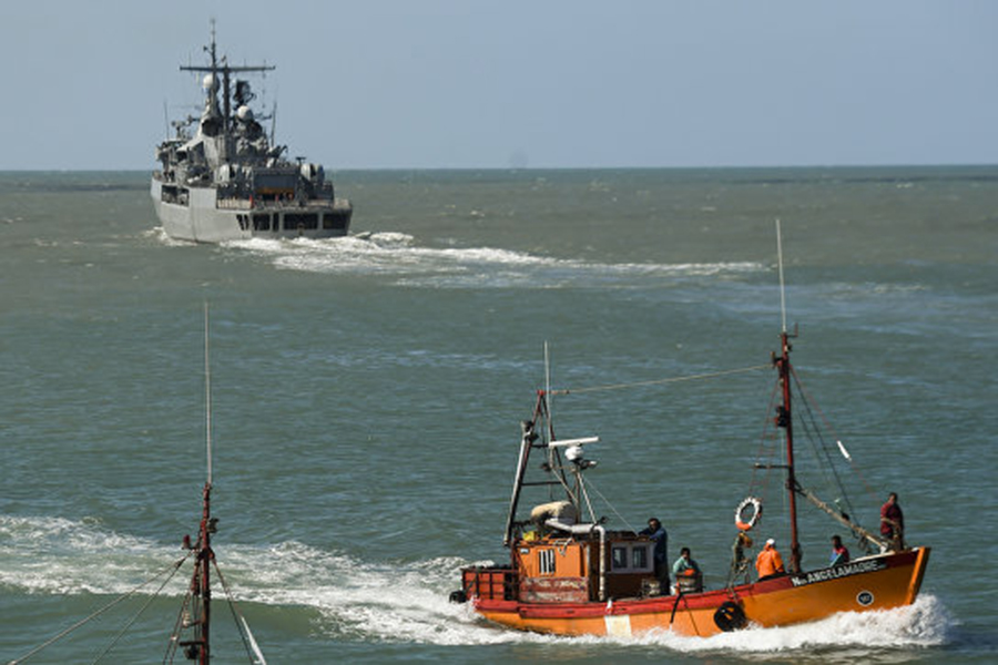 Овзрыве врайоне исчезновения подлодки «Сан-Хуан» сказали аргентинские ВМС
