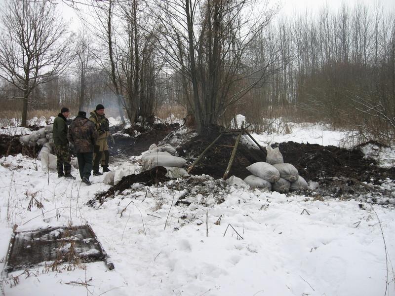 Жителей Ольшан оштрафуют за кражу земли в лесу