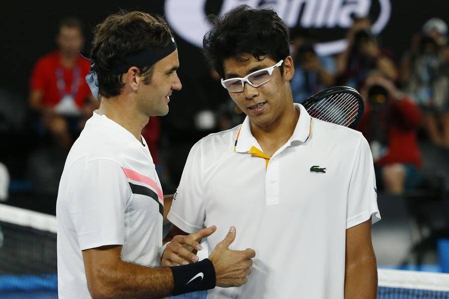 Федерер врекордный 30-й раз вышел вфинал турнира «Большого шлема»
