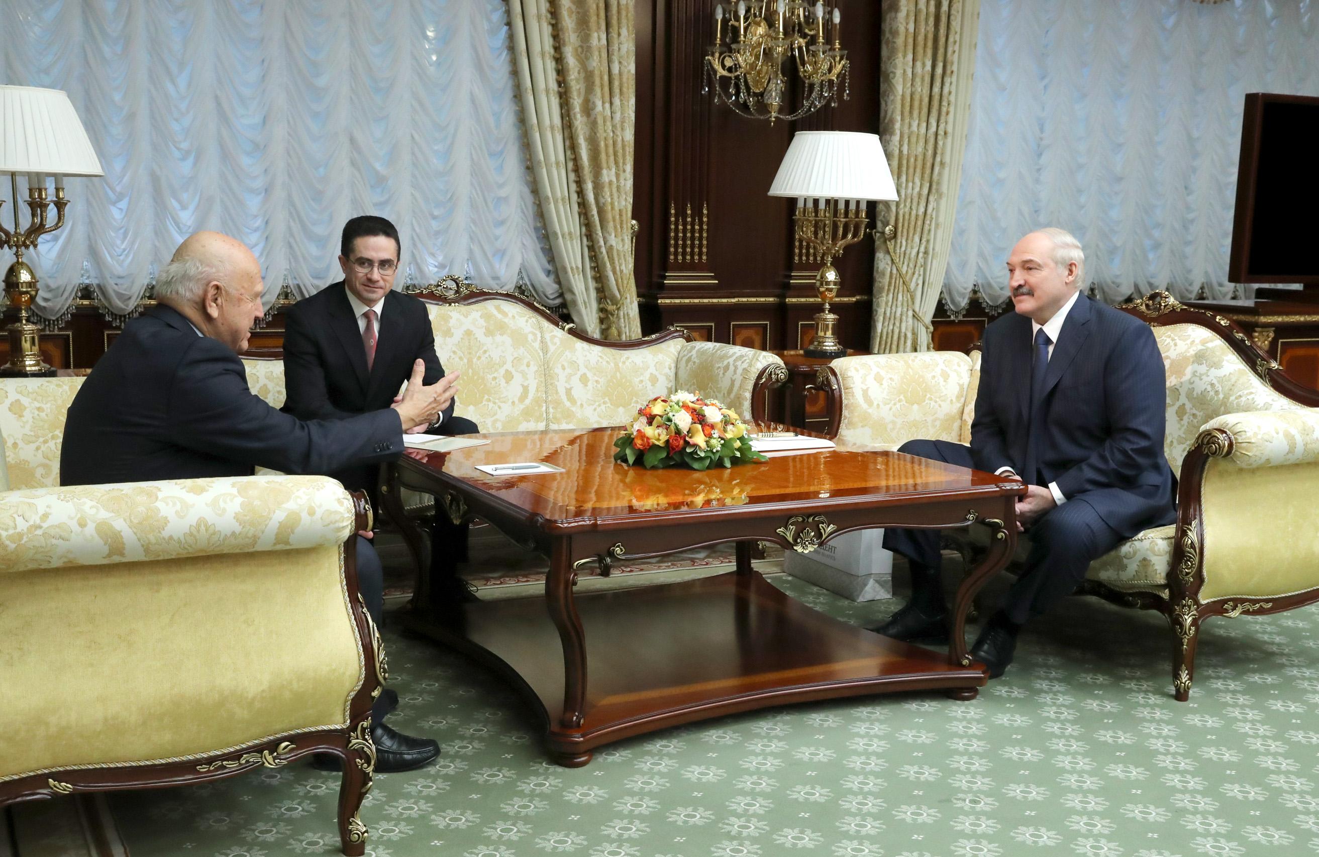 Руководитель ЕОК навстрече сЛукашенко оценил подготовку Белоруссии кЕвропейским играм