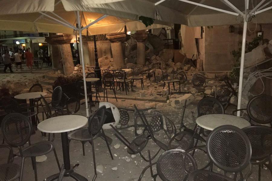 В итоге землетрясения наострове Кос армян среди пострадавших нет