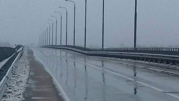 ВЖитковичском районе треснул автомобильный мост