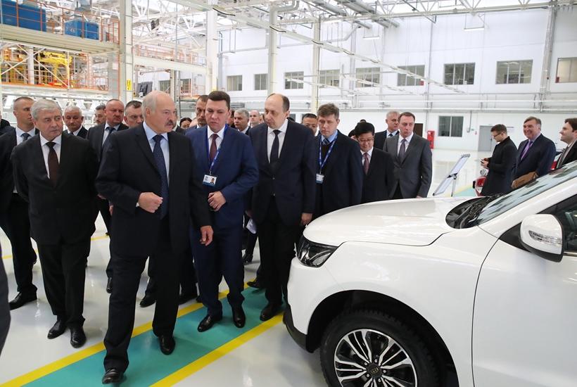 Geely запустил завод в республики Белоруссии для поставок на русский рынок