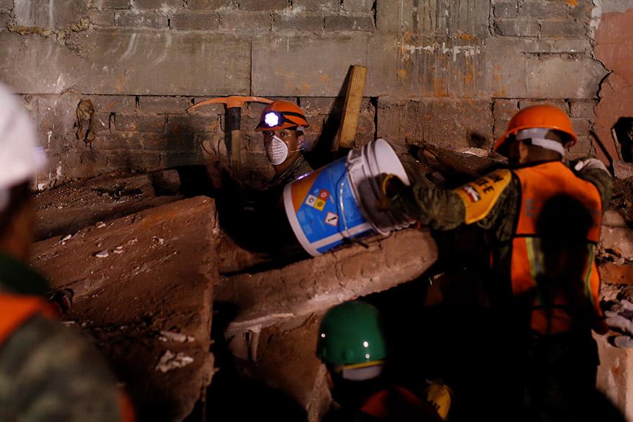 Землетрясение вМексике: количество погибших возросло