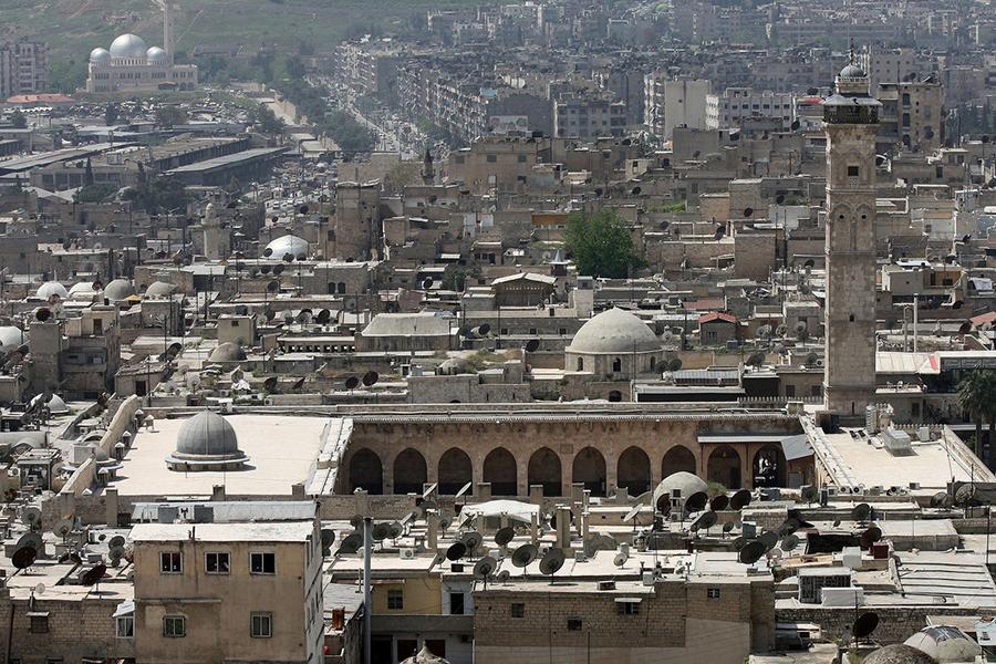 1-ый за 5 лет экскурсионный тур вАлеппо собрал неменее 300 сирийцев