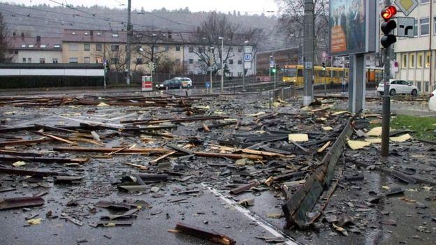 В итоге урагана «Элеонор» вевропейских странах погибли 3 человека