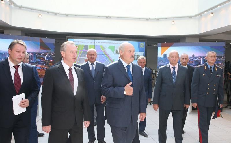 Минск должен быть просторным сам посебе и«дышать»— Лукашенко