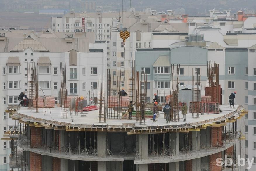 Белстат: вянваре-феврале объем ввода жилья снизился на15%