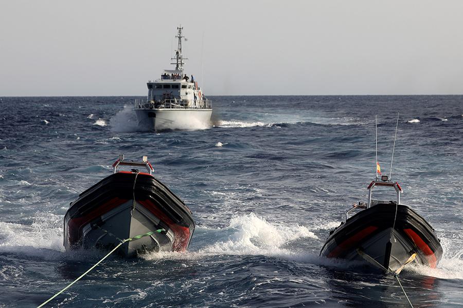 ВИспании спасли около 600 незаконных мигрантов