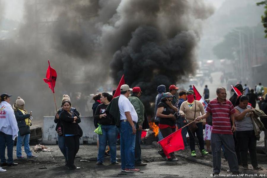 Впроцессе протестов вГондурасе пострадали 12 человек
