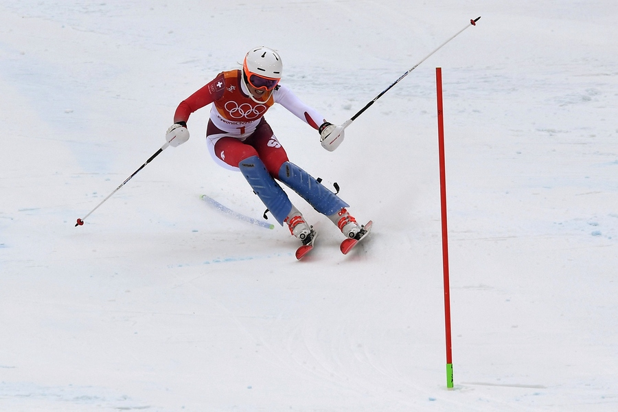 Швейцарка Жизен завоевала золото вгорнолыжной комбинации
