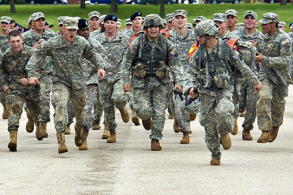 my career as a american soldier