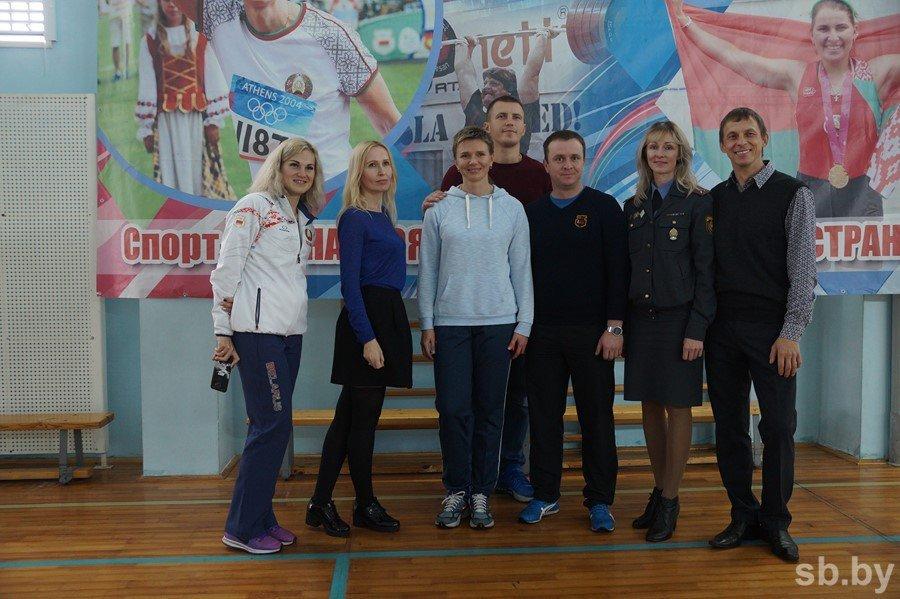 Олимпийцы Брестчины провели мастер-класс для юных легкоатлетов