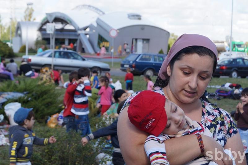 Набелорусской границе 200 чеченцев ожидают укрытия вПольше