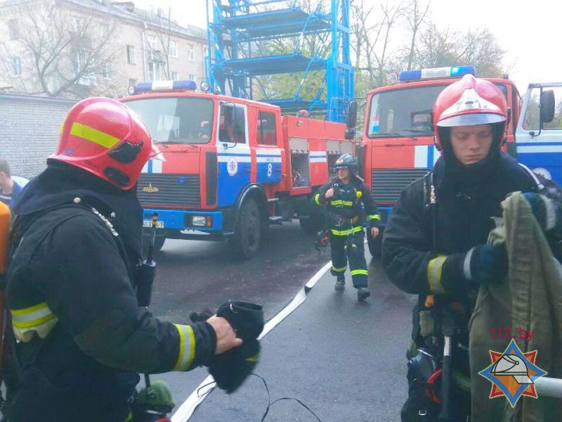 ВМинске изадминистративного здания эвакуировано 200 человек