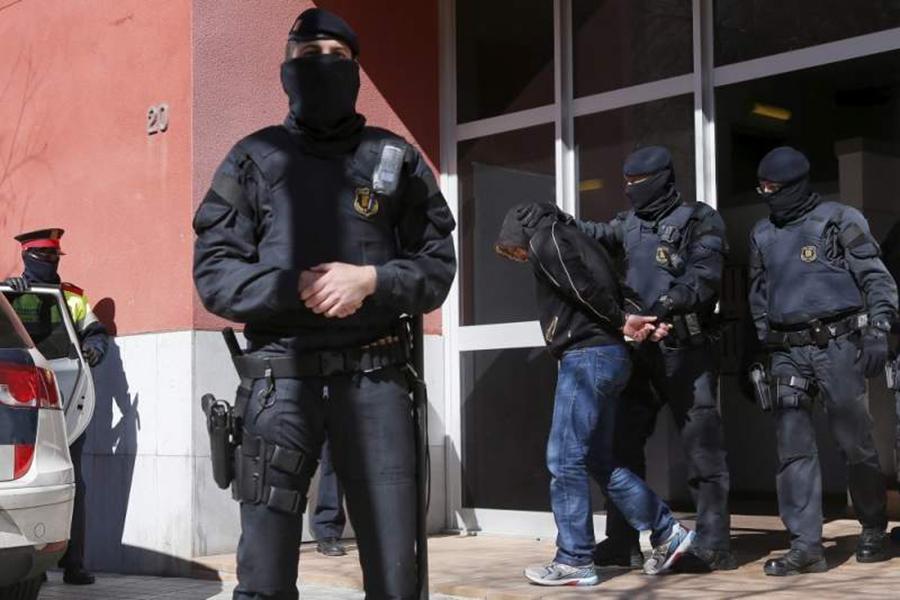 Врамках операции «антитеррор» вКаталонии проведены задержания