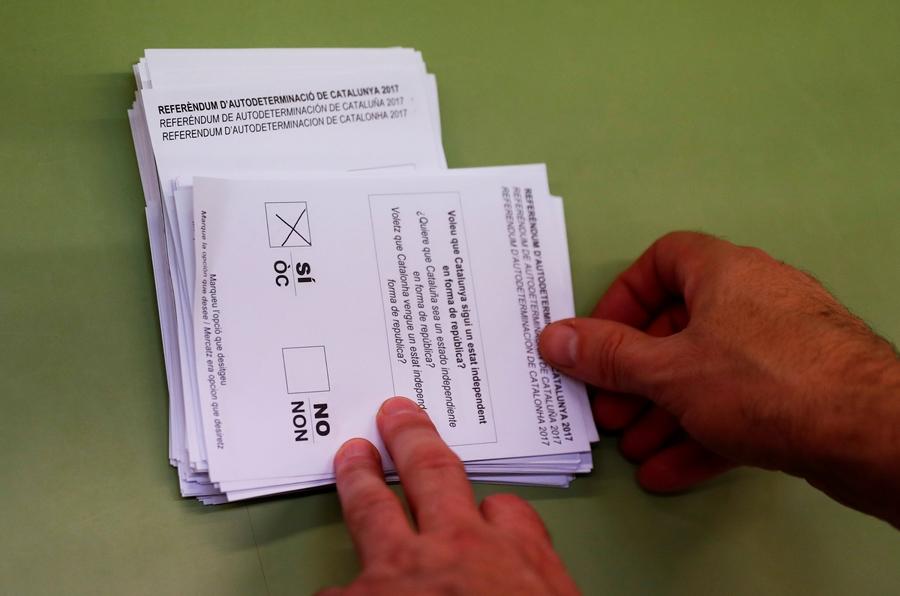 90% участников референдума высказались заотделение Каталонии отИспании
