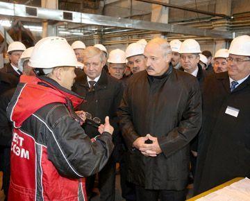 Александр Лукашенко ознакомился с ходом строительства белорусской АЭС