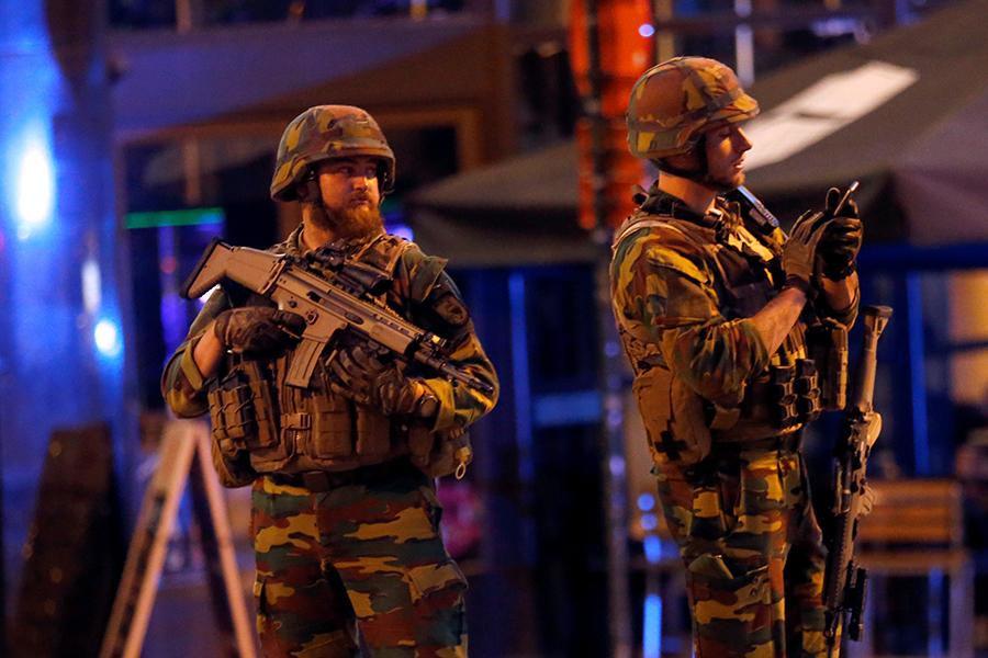 Установлена личность подозреваемого впопытке взрыва— Брюссель