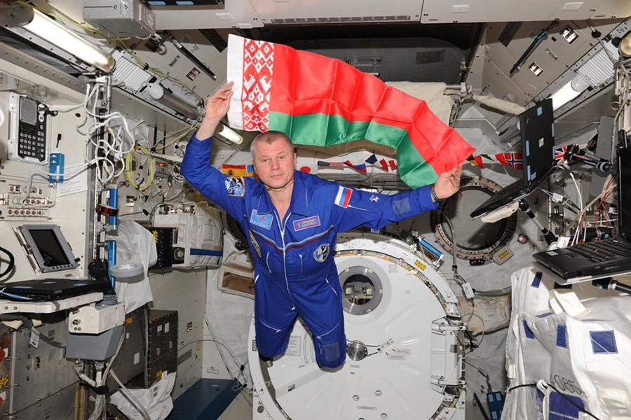 Космонавт Новицкий рассказывает о собственной миссии наорбите. Видеотрансляция