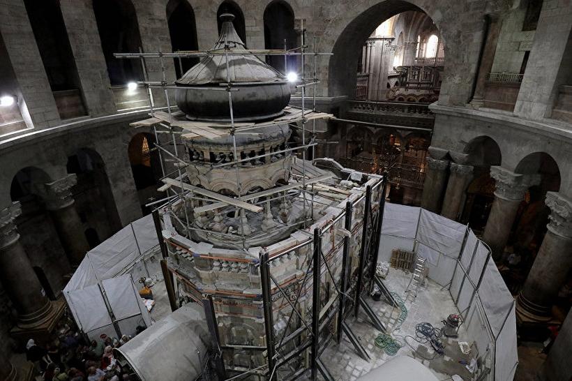 Установление возраста Гроба Господня разрушает скептицизм вокруг христианских святынь— историк