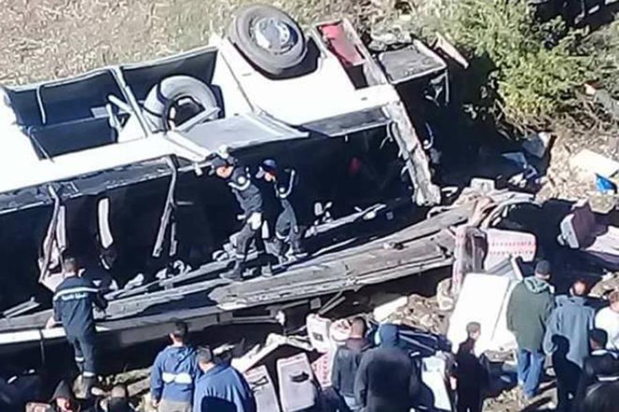 В Тунисе 57 человек пострадали в ДТП с автобусом