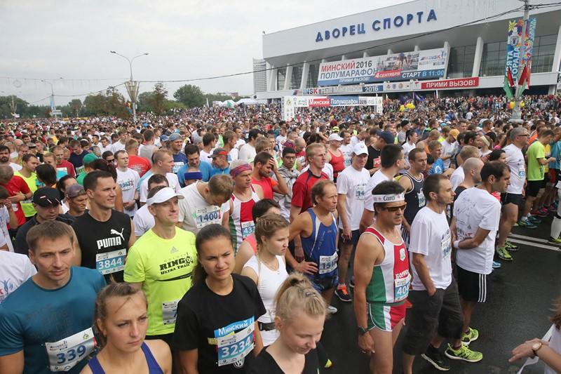 Победительница Минского полумарафона установила новый рекорд дороги
