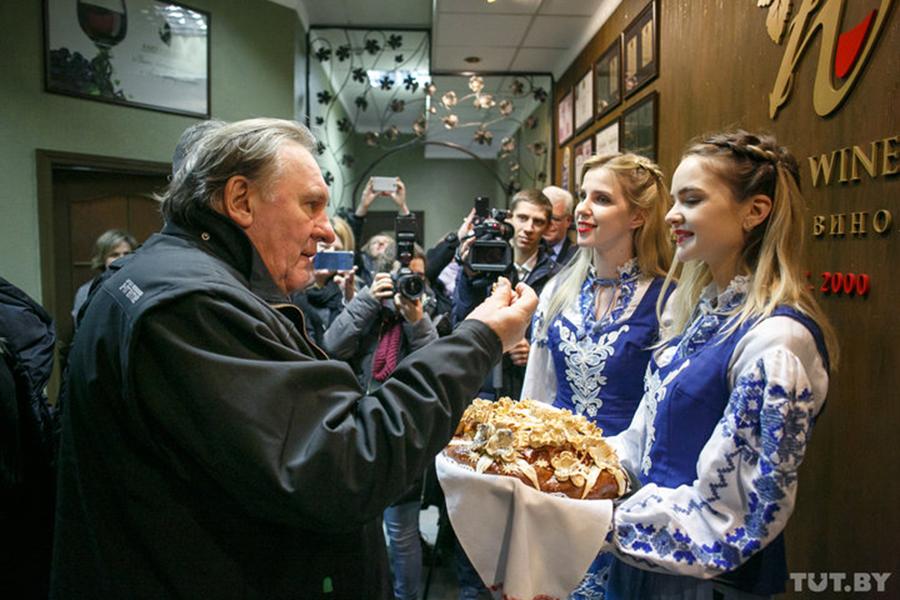 Жерар Депардье снова посетил Беларусь