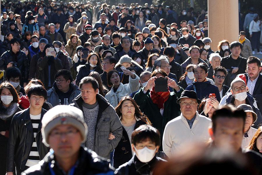 Вюжных районах Японии зафиксировано землетрясение
