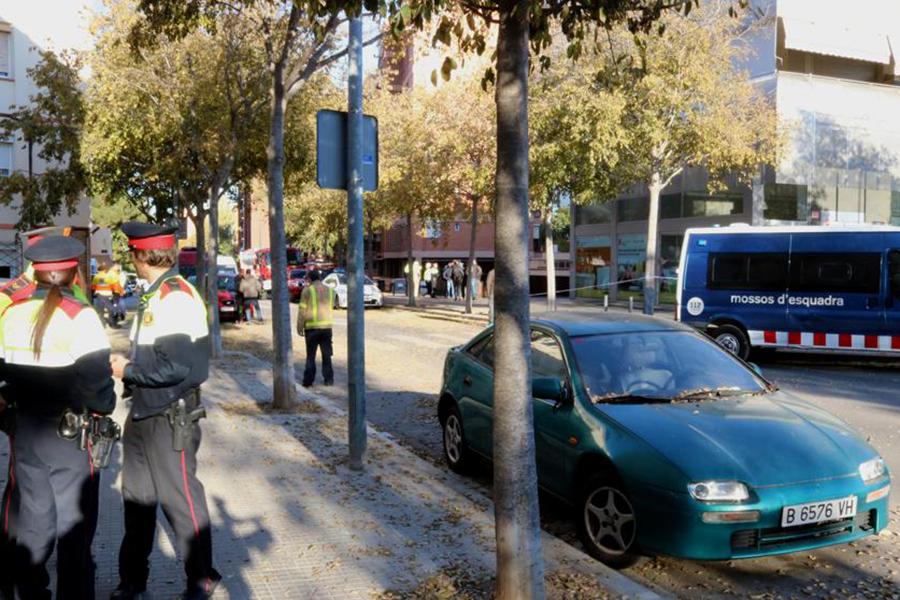 Впригороде Барселоны взорвался автомобиль