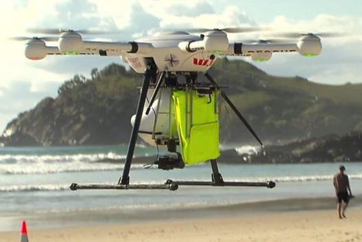 ВАвстралии дрон провел «первую вистории» спасательную операцию