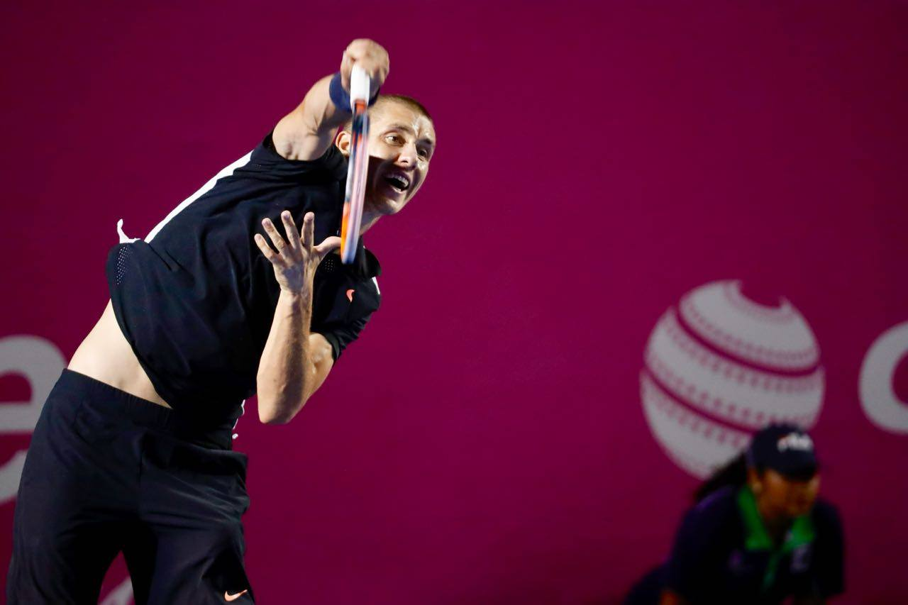 Егор Герасимов одержал первую вкарьере победу восновной сетке турниров ATP