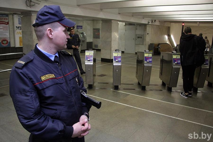 Лукашенко распустил УВД поохране минского метро