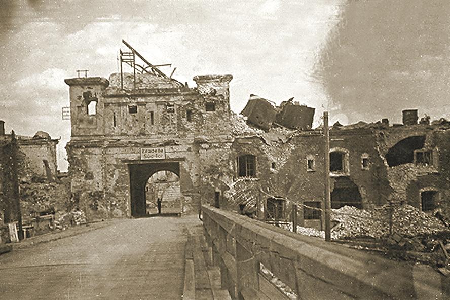 фото военной хроники взятой цитадель окон выходят